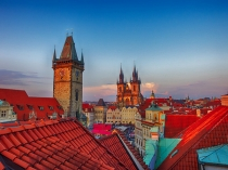 TWE_CZH_042314_0134_HDR.jpg  Europe;Cezch Republic;Prague;Red Roof Tops