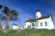 TWE38100.jpg  North America,USA,California,Crescent City,Battery Point Light House