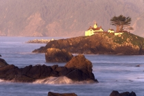 TWE38101.jpg  North America,USA,California,Crescent City,Battery Point Light House